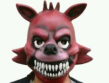 Five Nights At Freddy's Foxy Full Latex Mask - FNAF &Come From USA get fast*