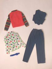 Vintage barbie get up n go 1973 steward costume #7703