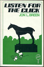 Listen for the Click by Jon L. Breen-Signed First Edition/DJ-1983-Walker Mystery