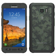 Samsung Galaxy S7 active SM-G891A (Latest) 32GB Camo Green AT&T GSM UNLOCKED