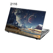 "TaylorHe da 15,6 ""LAPTOP Vinile Adesivo Decalcomania Colorata FANTASY Universe 2116"