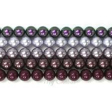 Swarovski 5810 Crystal Round Pearls Beads Mixed Colors *Pick your Sizes & Colors