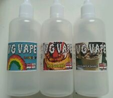 VG VAPE - 3x 100ml Bottles 69 Flavours E Liquid Juice 0 mg Premium Quality 80/20