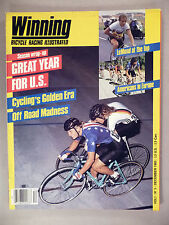 Winning Bicycle Racing #5 - December, 1983