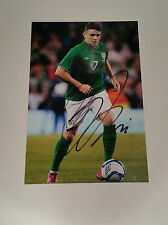 """Robbie Brady signed autograph 6""""x4"""" photo Rep of Ireland and Norwich Hull City"""