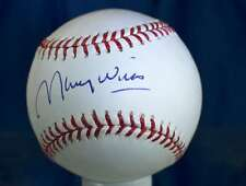 MAURY WILLS TRI STAR SIGNED MAJOR LEAGUE AUTOGRAPH BASEBALL AUTHENTIC