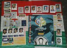 Album WM WC Germany 2006 panini+set completo+aggiornamento con scudetto BRASILE