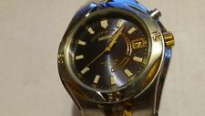 Mens Seiko Kinetic 10bar 2tone 5m62-0D30 NR for PARTS