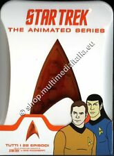 STAR TREK LA SERIE ANIMATA - COFANETTO 4 DVD NUOVO!