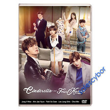 "BUY 5 GET 1 FREE"" Cinderella and Four Knights Korean Drama (4DVDs) GOOD_ENG SUBS"