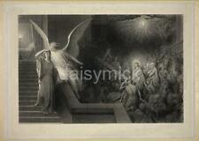 The Dream of Pilate's Wife Gustave Dore 1879 Christianity Angels 7x5 Inch Print