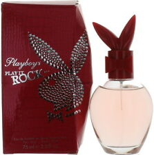 Play It Rock by Playboy for Women EDT Perfume Spray 2.5 oz.-Damaged Box