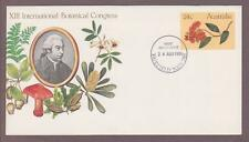 Australia PSE # 036 , 13th Intnl Botanical Congress FDC - I Combine S/H
