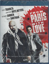 Blu-ray **FROM PARIS WITH LOVE** con John Travolta nuovo sigillato 2010