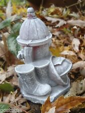 """Latex only small fire hydrant  mold plaster concrete casting mould 4.5""""H x 3""""W"""