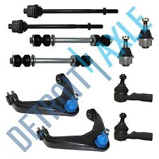 Brand New 10pc Complete Front Suspension Kit - SILVERADO 2500 HD Sierra Yukon H2