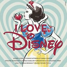 Kinder I Love Disney Audio CD Lieder Musik Filmmusik Soundtrack Kindermusik NEU