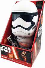 "STAR WARS STORMTROOPER 8"" TALKING PLUSH BRAND DISNEY THE FORCE AWAKENS"