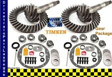 Sierra Dana 35 + 30 Jeep Ring and Pinion Gear Set Pkg w Master Kit 4.56 Ratio