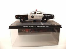 Fabbri Dodge Momaco James Bond 007 A view to kill  neuf en boite 1/43
