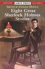 Eight Great Sherlock Holmes Stories (Dover Large Print Classics)-ExLibrary