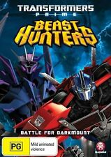 Transformers: Prime (Season 3, Vol 1) - Battle for Darkmount NEW R4 DVD
