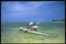 328062 Ocean Kayak desde el punto de pueblo de Negril (Negril A4 Foto Impresión