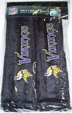 NIP NFL 2 PACK SEAT BELT PADS - MINNESOTA VIKINGS