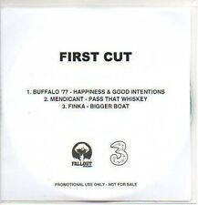 (P986) First Cut, Buffalo '77 / Mendicant / Finka DJ CD