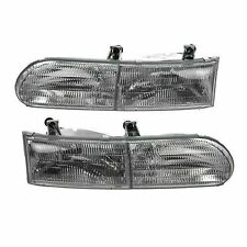 GULF STREAM SUN VOYAGER 2003 2004 PAIR HEADLIGHT HEAD LIGHT FRONT LAMP RV