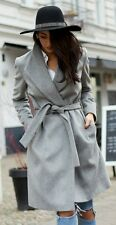 bnwt Allsaints MIYA wool coat.uk 8 (8-10)grey. £358