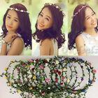 Cute Elegent Flower Garland Wedding Bride Bridal Headdress Headbands Bohemian