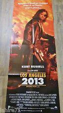 LOS ANGELES 2013 escape from l.a ! john carpenter snake plissken affiche cinema