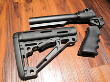 Mesa Tactical & HOGUE Stock Kit Mossberg 500 12 Gauge Pistol Grip 6 Position