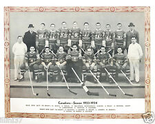 1933-34 MONTREAL CANADIENS 8X10 TEAM PHOTO PICTURE MORENZ JOLIAT