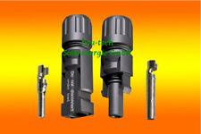 20Stück Multicontact MC4 Stecker 4-6mm² für Solar PV Kabel Solarstecker