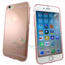 "Custodia Nillkin Nature 0.6mm rosa trasparente per iPhone 6 6S Plus 5.5"" cover"