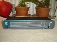 Ashly GQX-3101, 31 Band Eq, Third Octave Graphic Equalizer, Rack