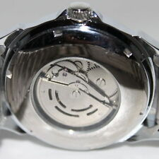 Steel Iron Band Enginner Series Auto Mechanical Mens Wrist Watch Silver