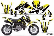 AMR Racing Suzuki DRZ 70 Graphic Kit Wrap Dirt Bike Decals MX Parts 2015 ATTK Y