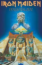 "IRON MAIDEN FLAGGE / FAHNE ""WORLD SLAVERY TOUR POWERSLAVE"" POSTERFLAGGE"