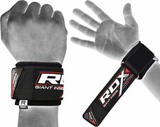 RDX Wrist Brace Grip Support Gym Gloves Straps Weight Lifting Wrap Body Building