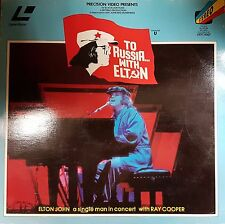 Elton John To Russia With Elton 27 Track Laser Disc