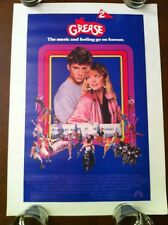 GREASE 2 17x24 MINI Vintage Movie Poster ROLLED 1982 Michelle Pfeiffer DANCING