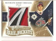 Gilbert Brule 2005-06 Upper Deck Ultimate Collection Debut Threads Patch 48/50