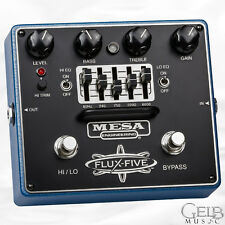 Mesa Boogie Flux-Five Overdrive Pedal with 5-Band EQ - FP.FLUX5