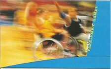 2000 Sydney Paralympic Games - Post Office Stamp Pack