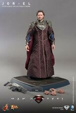 Hot Toys Sideshow Man Of Steel Jor-El 1/6 figure DC Comics Superman Russel Crowe