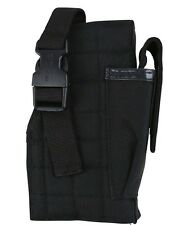 KOMBAT TACTICAL MOLLE HOLSTER WITH PISTOL MAG POUCH BLACK