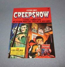 Creepshow Rare Graphic Novel-1st Print 1982-MINT.